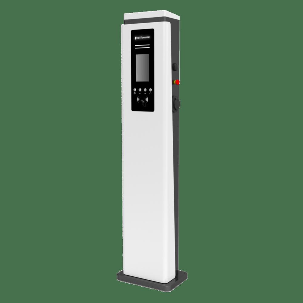 Station de recharge voiture électrique - alimentation AC double -11 – 1-min