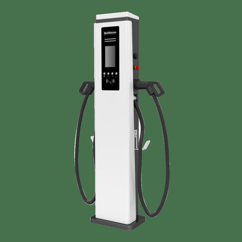 Station de recharge voiture électrique - alimentation AC double pistolet et cable inclus-8 – 1-min