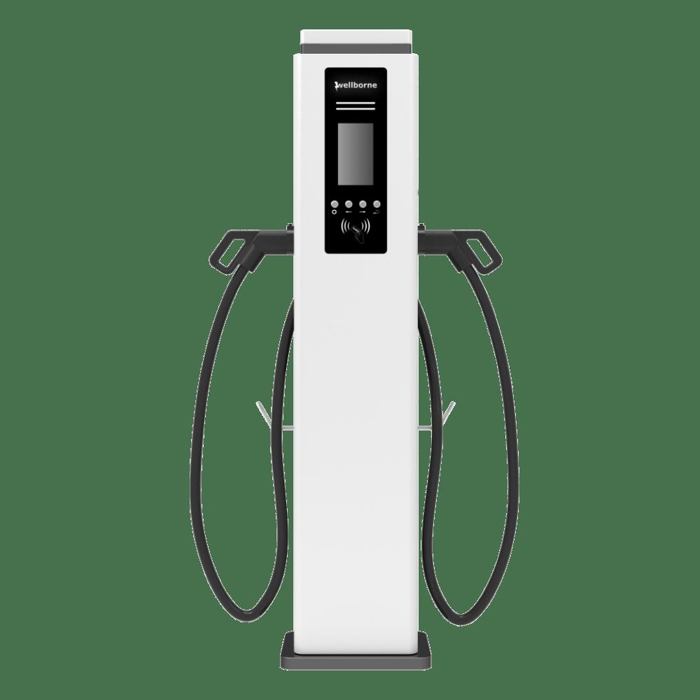 Station de recharge voiture électrique - alimentation AC double pistolet et cable inclus-9 – 1-min